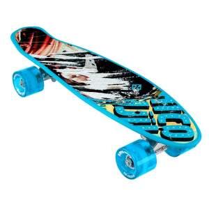 Street Surfing Beach Board Glow Rough Poster Skateboard.1