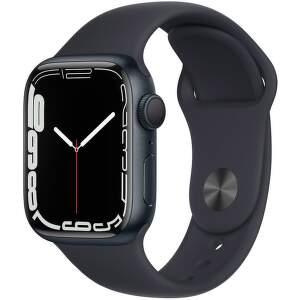 Apple Watch Series 7 41 mm temne atramentový hliník s antracitovo čiernym športovým remienkom-1__EAEN