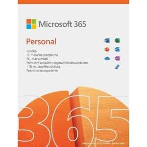 Microsoft 365 Personal SK (1 rok, 1 užívateľ)