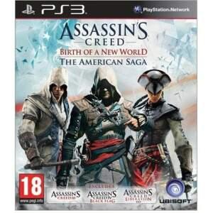 PS3 - Assassins Creed - American Saga