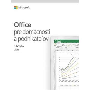 Microsoft Office 2019 Home & Business SK