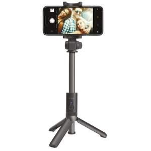 SBS Tripod bezdrôtová selfie tyč, čierna