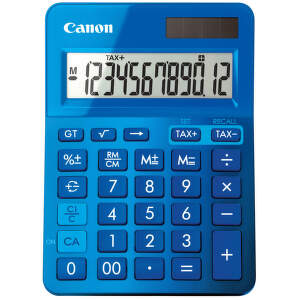 Canon LS-123K-MBL, 9490B001AA (modrá) - osobní kalkulačka