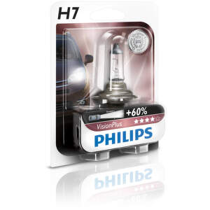 PHILIPS LIGHTING H7 VisionPlus, Autožiar