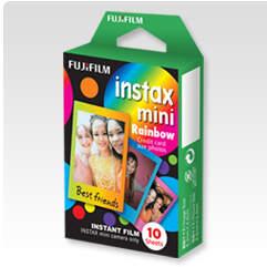 Fujifilm Instax Mini Rainbow, 10ks