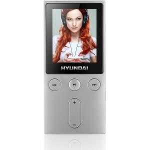 Hyundai MPC 501 8GB FM - MP3/MP4 prehrávač (strieborný)