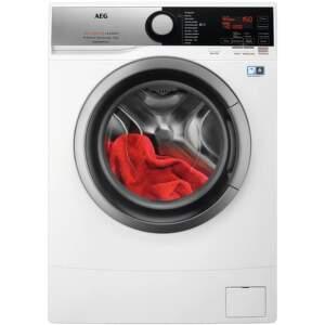 AEG L6SE26SC, biela slim práčka plnená spredu