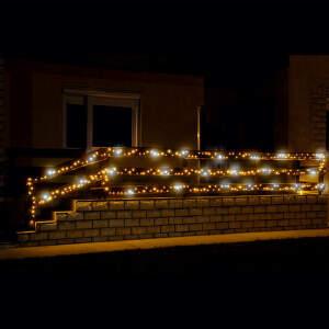 Žiariaci svetelný LED reťazec KKL 500F/WH