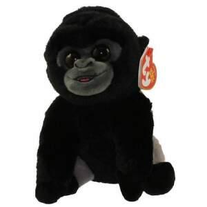 BO gorila so strieborným chrbtom 15 cm plyšová hračka