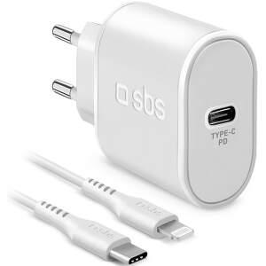 sbs-usb-c-lightning-power-delivery-18w-biela-1m-kabel-usb-c-lightning-cestovna-nabijacka