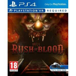 PS VR Until Dawn: Rush of  Blood - PS4 hra