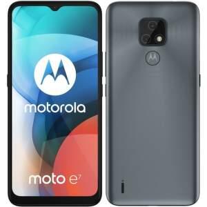Motorola Moto E7 32 GB sivý