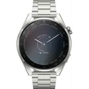 Huawei Watch 3 Pro strieborné s titánovým remienkom