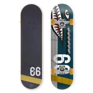 Street Surfing Street Skate 31 Shark Fire skateboard.1