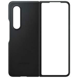 Samsung kožené puzdro pre Samsung Galaxy Z Fold3 čierne