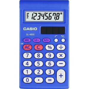 Casio SL 450 S modrá