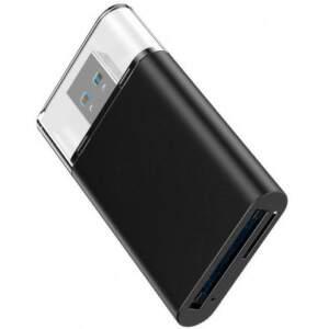 Platinet PMCR7010 čítačka pamäťových kariet SD/microSD čierna