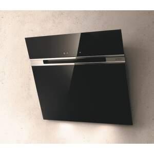 Elica STRIPE LUX BL A/60 čierny nástenný digestor