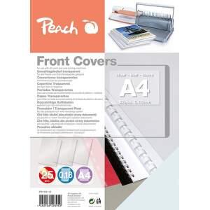 Peach PB100-15 0,18mm A4 25 ks priehľadná krycia fólia