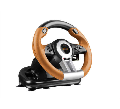 SPEEDLINK SL-6695-BKOR DRIFT O.Z. Racing Wheel PC, black-orange