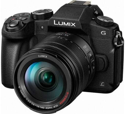 Panasonic Lumix DMC-G80 čierna + G Vario 14-140mm
