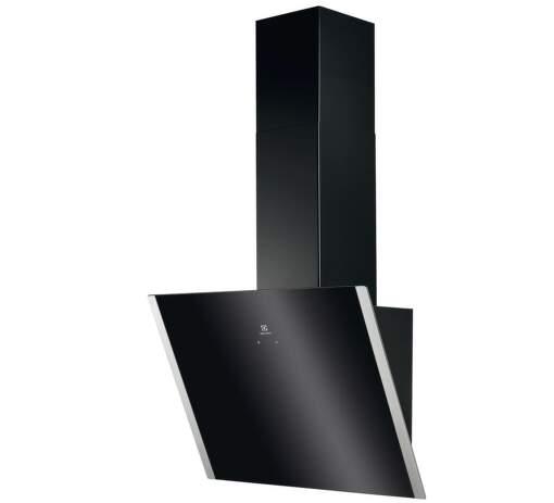 Electrolux 600 FLEX LEDSpot EFV60657OK, čierny komínový digestor