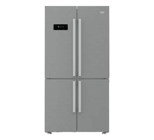 BEKO GN1416231ZX, nerezová americká chladnička