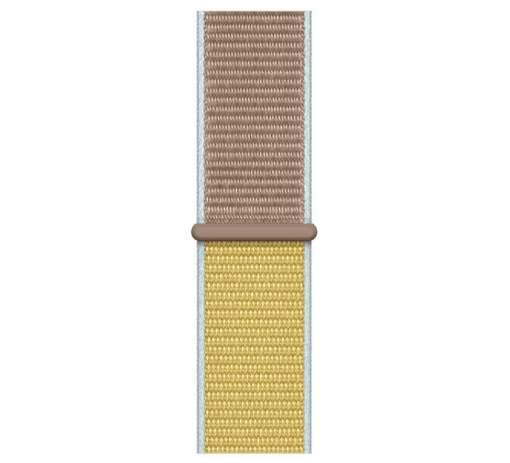 Apple Watch 44 mm sportovní prevliekací remienok, hnedobéžový
