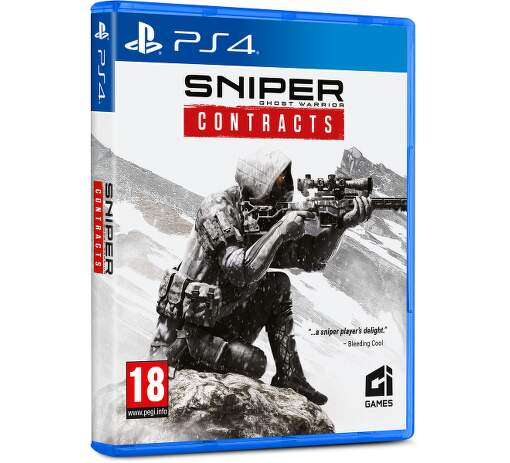 Sniper Ghost Warrior Contracts PS4 hra