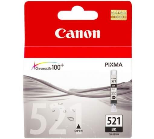 CANON CLI-521BK, Black Ink Cartridge, BL SEC