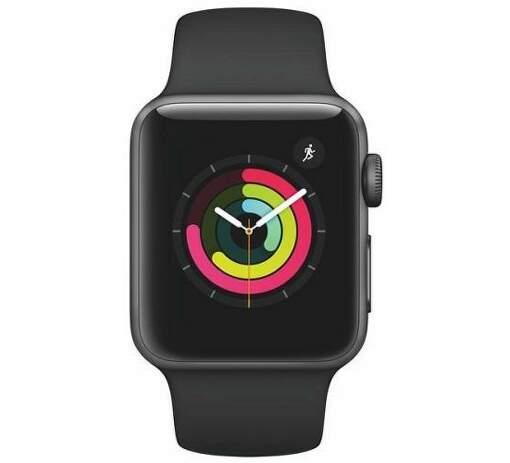 Renewd - Obnovené Apple Watch Series 3 42mm vesmírne sivá/čierna