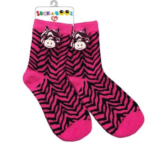 TY 95809 zebra ZOEY detské ponožky