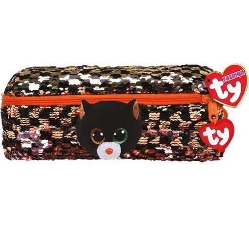 TY 95853 mačka SHADOW detský flitrovaný peračník