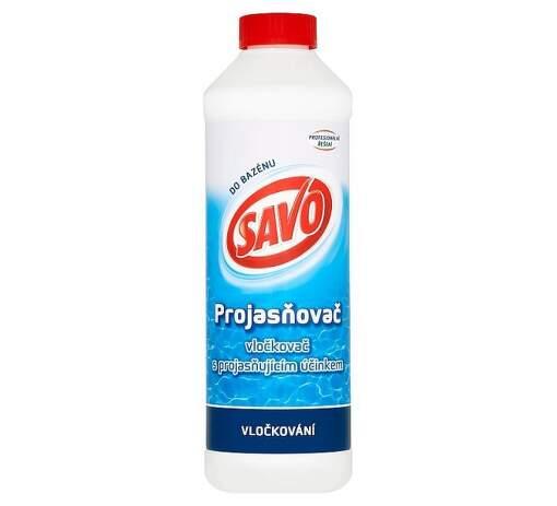 SAVO prejasňovač 0,9l bazénová chémia