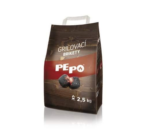 PEPO grilovacie brikety 2,5kg
