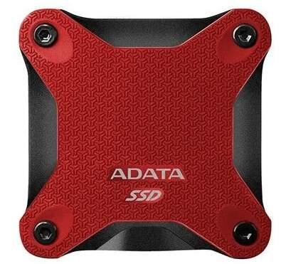A-DATA SD600Q 480GB SSD USB 3.1 červený