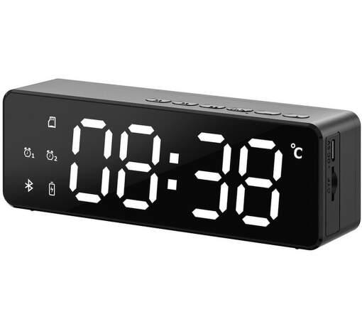 POWER+ AlarmClock BLK
