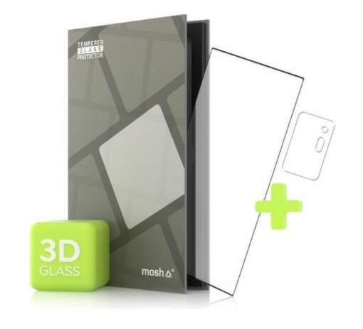 Tempered Glass Protector 3D ochranné sklo pre Samsung Galaxy Note 20 Ultra + sklo na kameru čierna