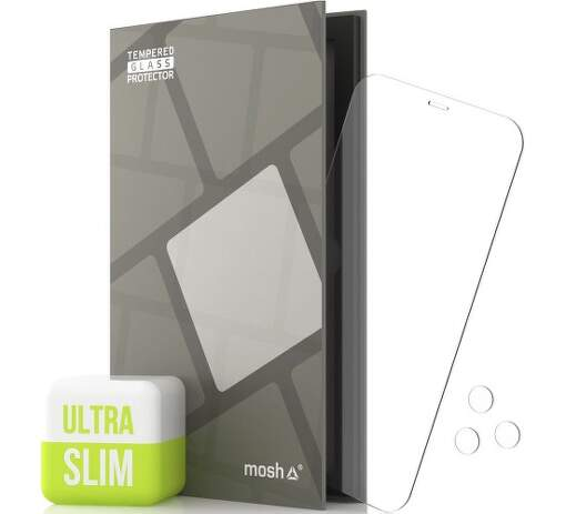 Tempered Glass Protector Ultra Slim 0.15 mm sklo pre Apple iPhone 12 Pro Max transparentná + sklo na kameru
