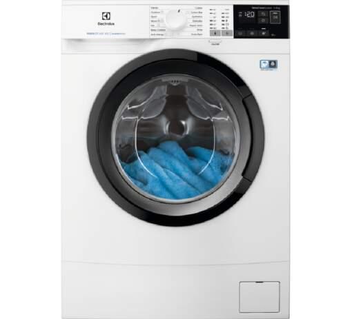 Electrolux PerfectCare 600 EW6S427BI, biela slim práčka plnená spredu