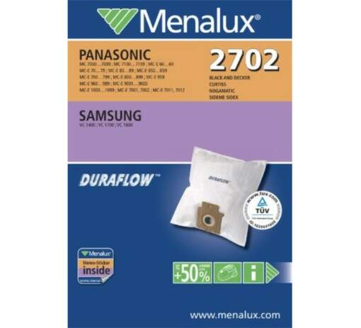 MENALUX 2702, sacky do vysavaca