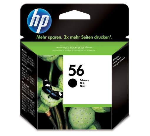 HP C6656AE No.56 black - atrament