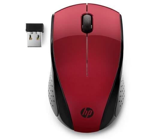 HP 220 červená