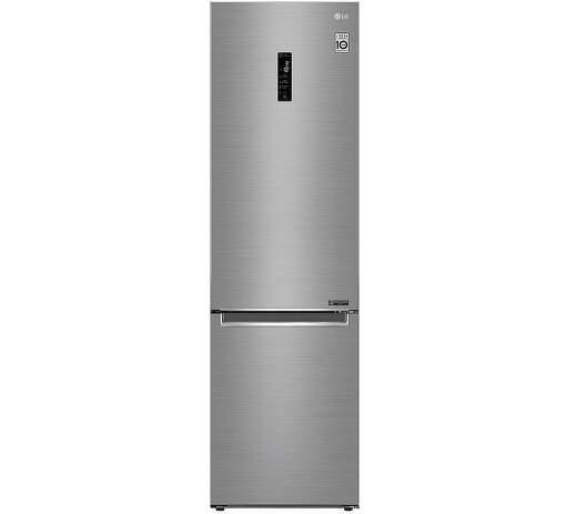 LG GBB62PZFFN, nerezová smart kombinovaná chladnička