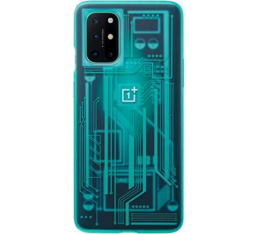 OnePlus Quantum Cyborg puzdro pre OnePlus 8T, azurová