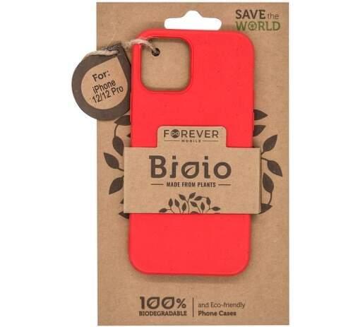 Forever Bioio puzdro pre Apple iPhone 12/12 Pro, červená