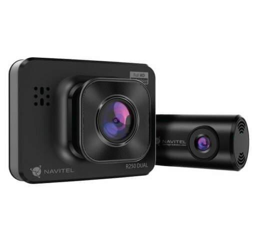 Navitel R250 DUAL autokamera čierna