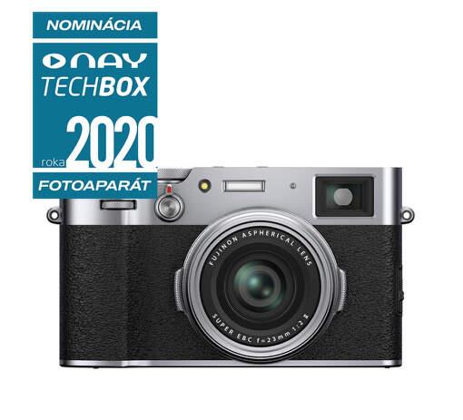 Fujifilm X100V strieborný
