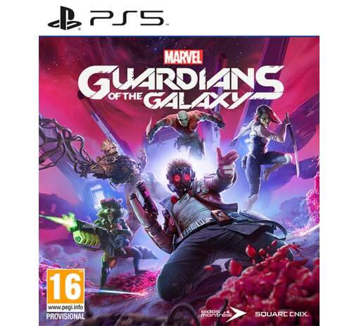 Marvel's Guardians of the Galaxy PS5 hra