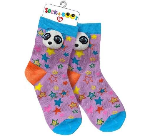 TY 95806 panda BAMBOO detské ponožky